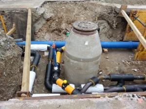 Schachtsanierung Limburg - offene Sanierung