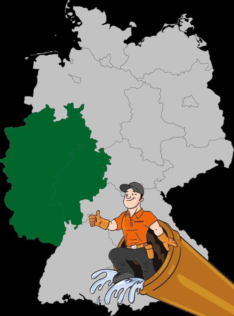 Rohhreinigung NRW und Rheinland-Pfalz